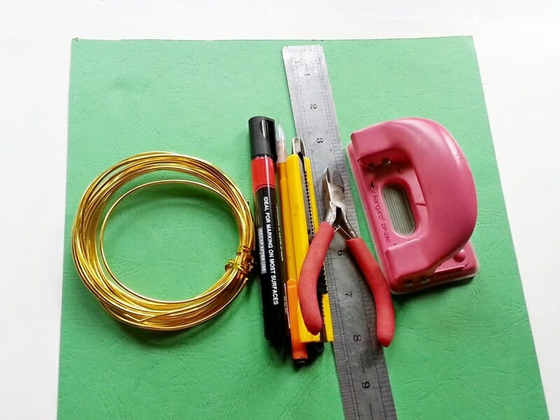 DIY Recycled Cardstock Notebook