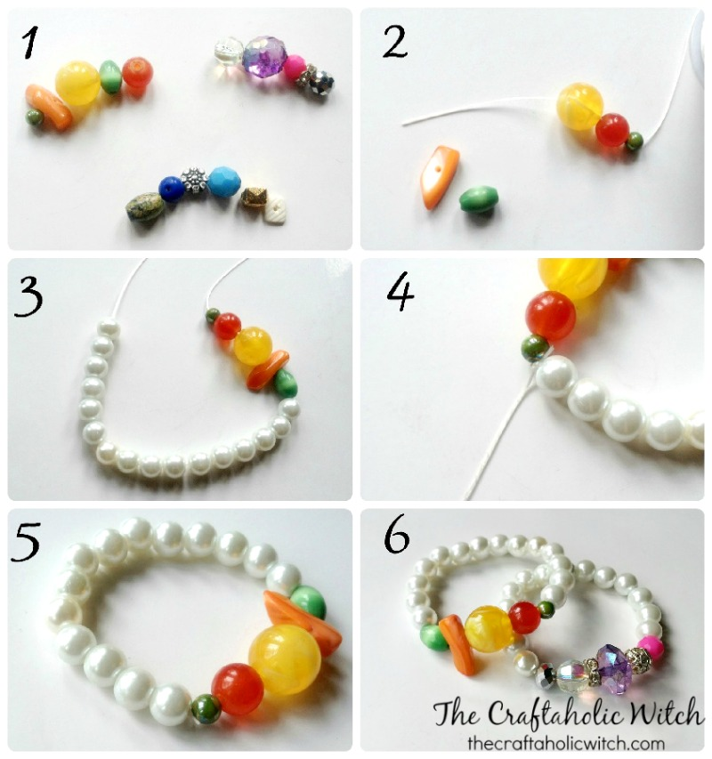mixed bead bracelet (1)