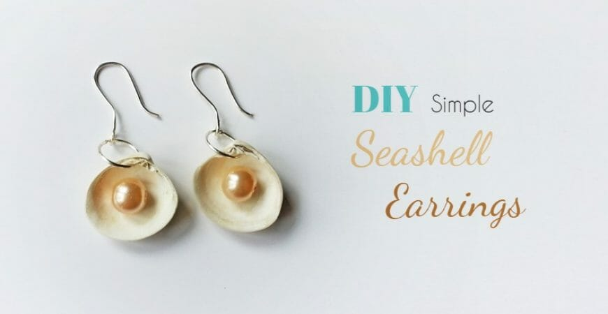 Create Sea Shell Earrings