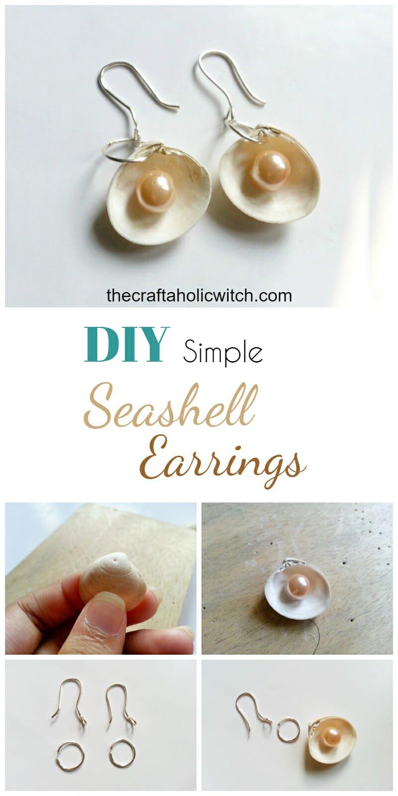 Create Sea Shell Earrings