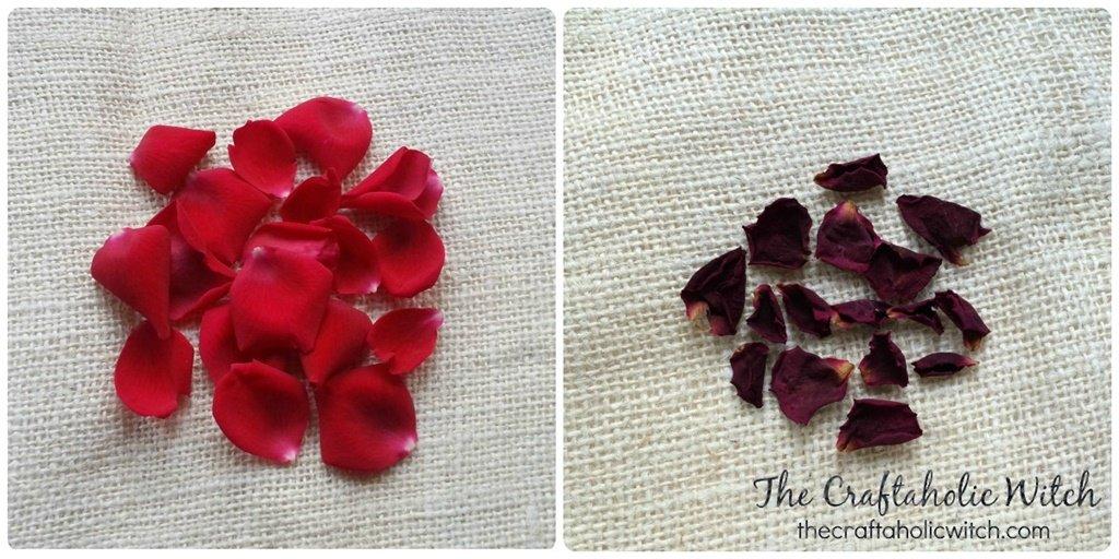 dry petals