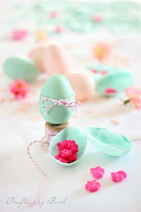 Eastersurprisechocolateeggcraftberrybush
