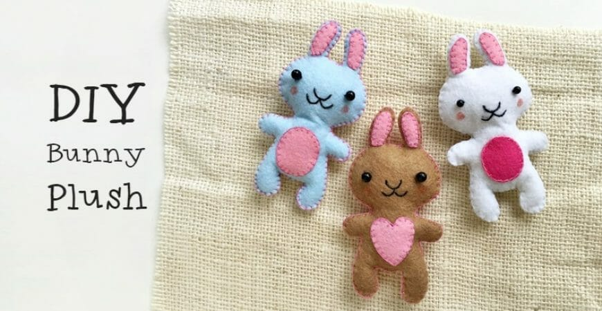 DIY Bunny Plush (Free Pattern)