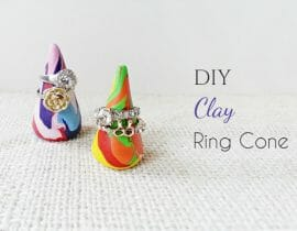 DIY Cone Ring Displays