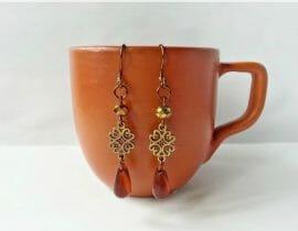 Create Simple Boho Style Earrings