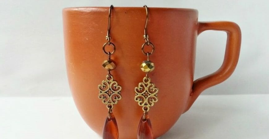 Create Simple Boho Style Earrings