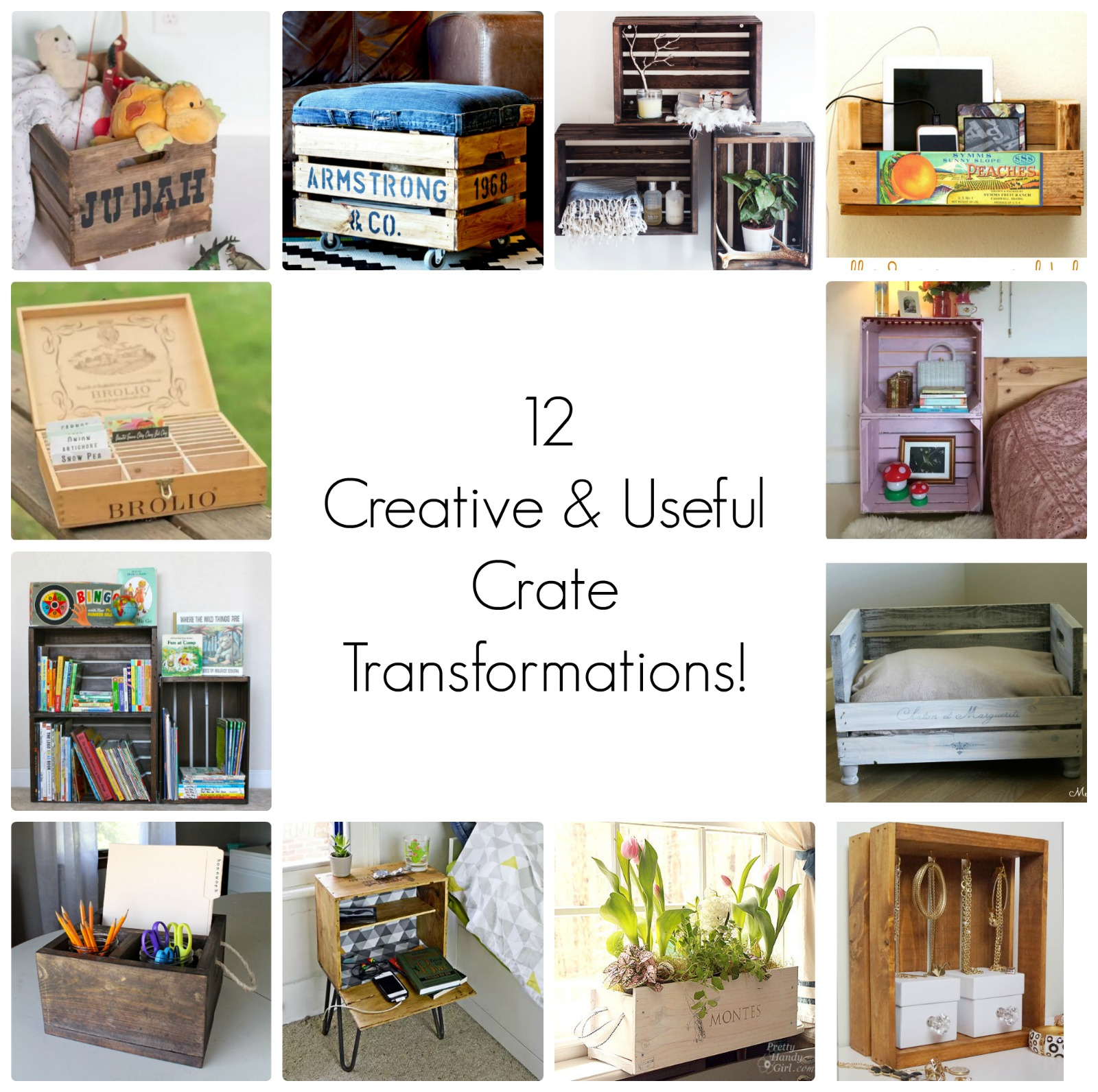 12 Awesome Crate Recycling Projects