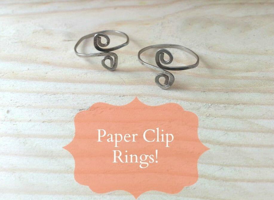 Create Paper Clip Ring
