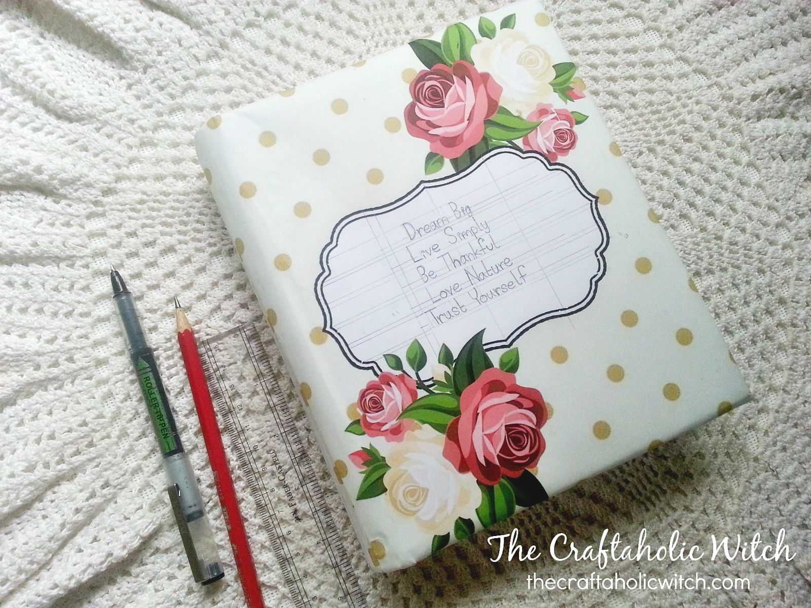 picture about Journal Cover Printable named Each day Magazine Go over (Printable) - The Craftaholic Witch