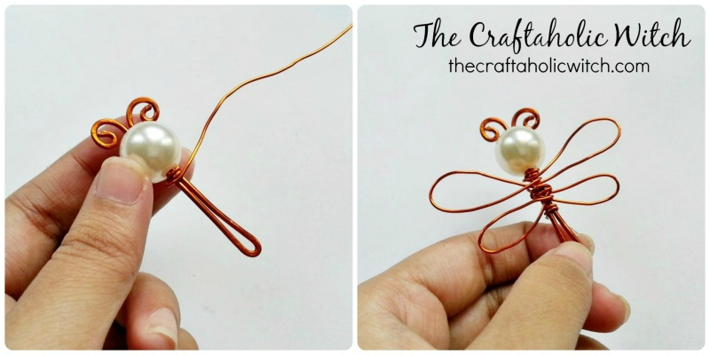 Create Simple & Cute Dragonfly Pendant