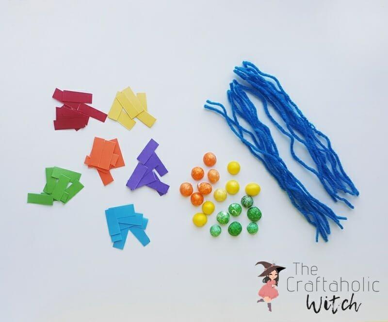 Rainbow Craft Step 1