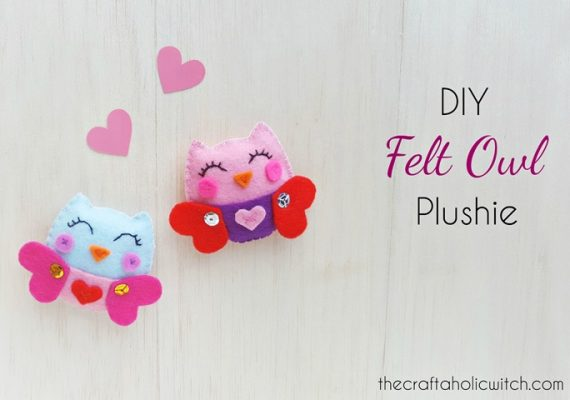 DIY Felt Owl Plush – Free Pattern