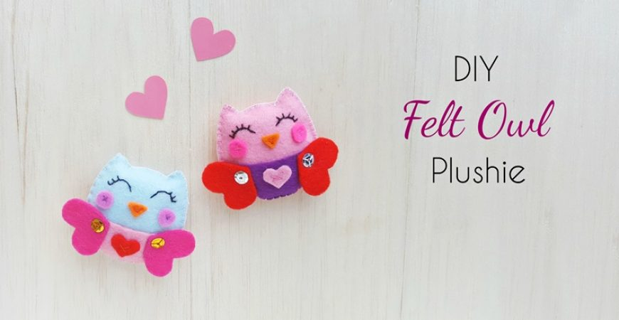 DIY Felt Owl Plush – Free Pattern