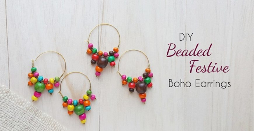 DIY Beaded Earrings: Make Beautiful Festive Style Earrings