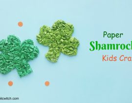 Paper Shamrock – St. Patrick's Day Craft