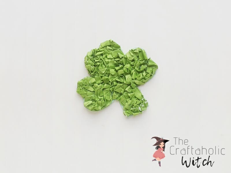 St. Patrick's day paper craft