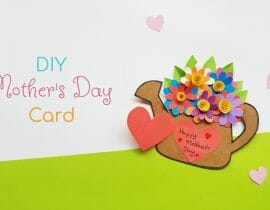 DIY Mother's Day Card – Paper Craft