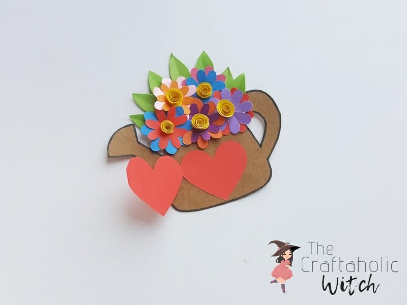 DIY Mother's Day Card - Paper Craft