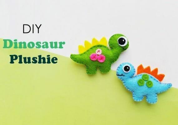 Free Plushie Pattern – DIY Dinosaur Plushie