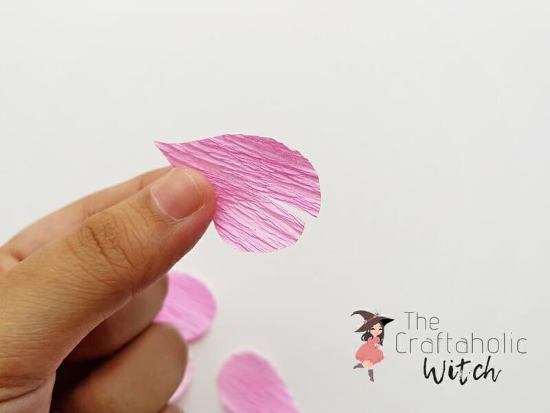 DIY Crepe Paper Ginger Flower