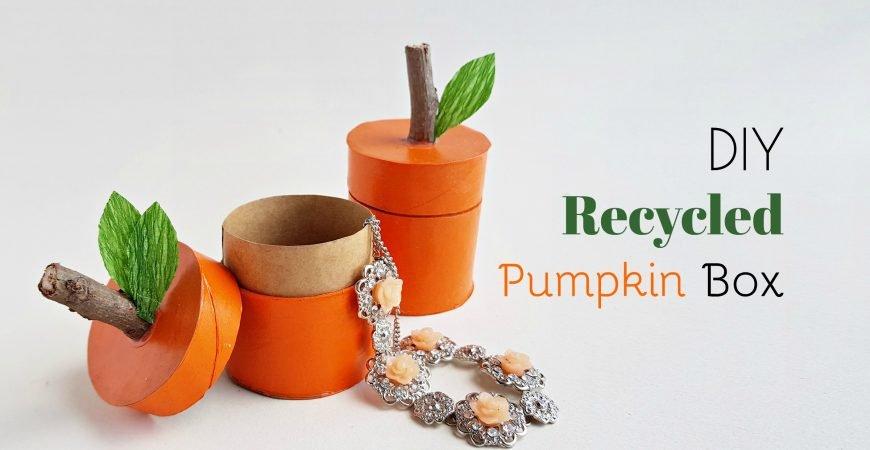 DIY Recycled Pumpkin Box
