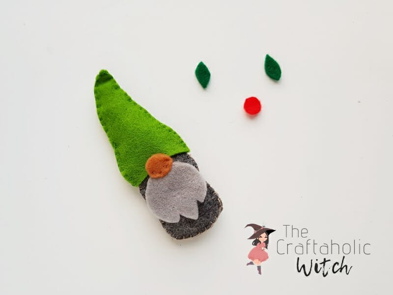 DIY gnome plush free pattern