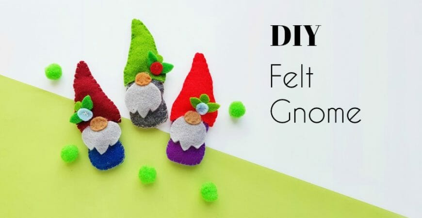 DIY Gnome Plush (Free Pattern)