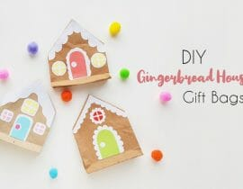 Gingerbread House Gift Bags