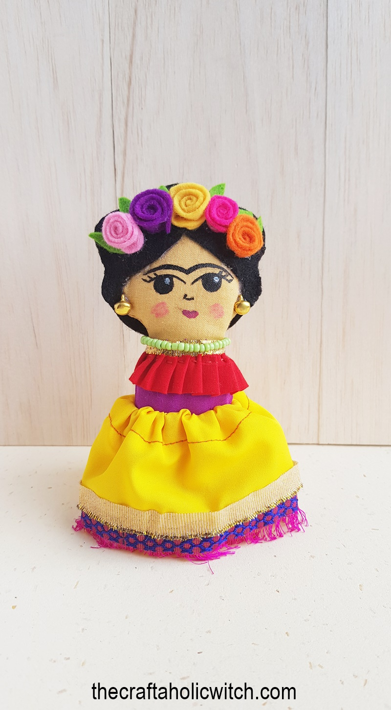 Frida doll pattern