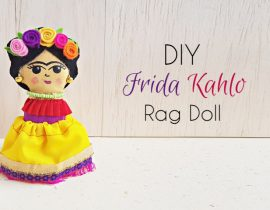 DIY Frida Kahlo Doll