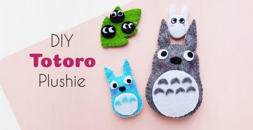 DIY Totoro Plush