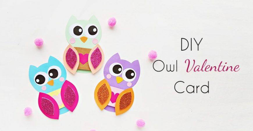 DIY Owl Valentine Card