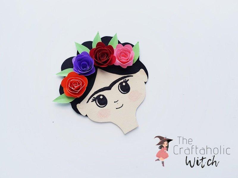 DIY Frida Kahlo Paper Doll