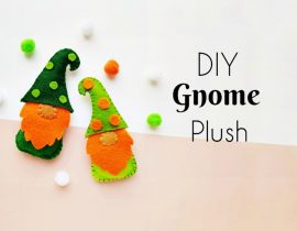 DIY Gnome Plush – Learn How to Make a Gnome Step by Step