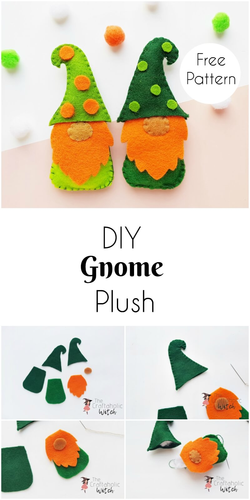 DIY Gnome Plush - Learn How to Make a Gnome Step by Step