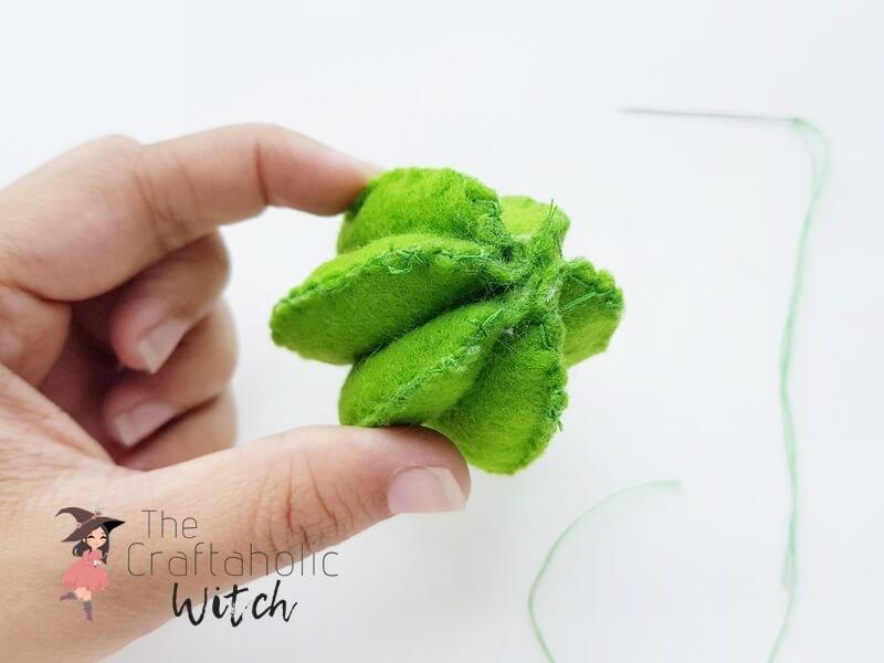 DIY Cactus Pincushion