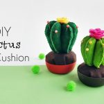 DIY Cactus Pincushion