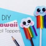 DIY Kawaii Pencil Toppers