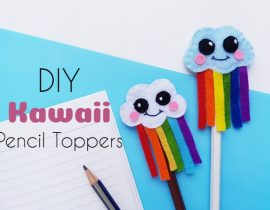 DIY Kawaii Pencil Toppers
