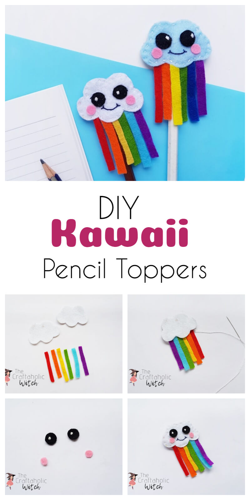 kawaii pencil topper