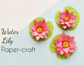 How to Make Pretty Paper Lilies (+ Free Printable Template)